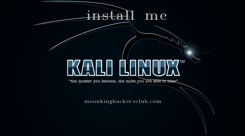 kali installation featured