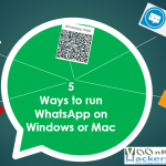 5 ways to run whatsapp on windows or Mac
