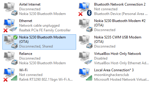 Turn your windows pc into a Wi-Fi hotspot without any software configure hotspot adapters