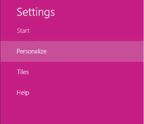 How to Change Start Menu Icons [ Customize ] in Windows 8 settings